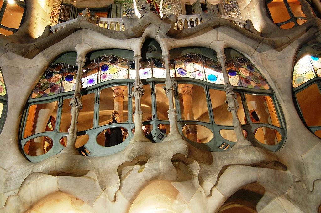 Casa Batlló Tribuna del piano nobile