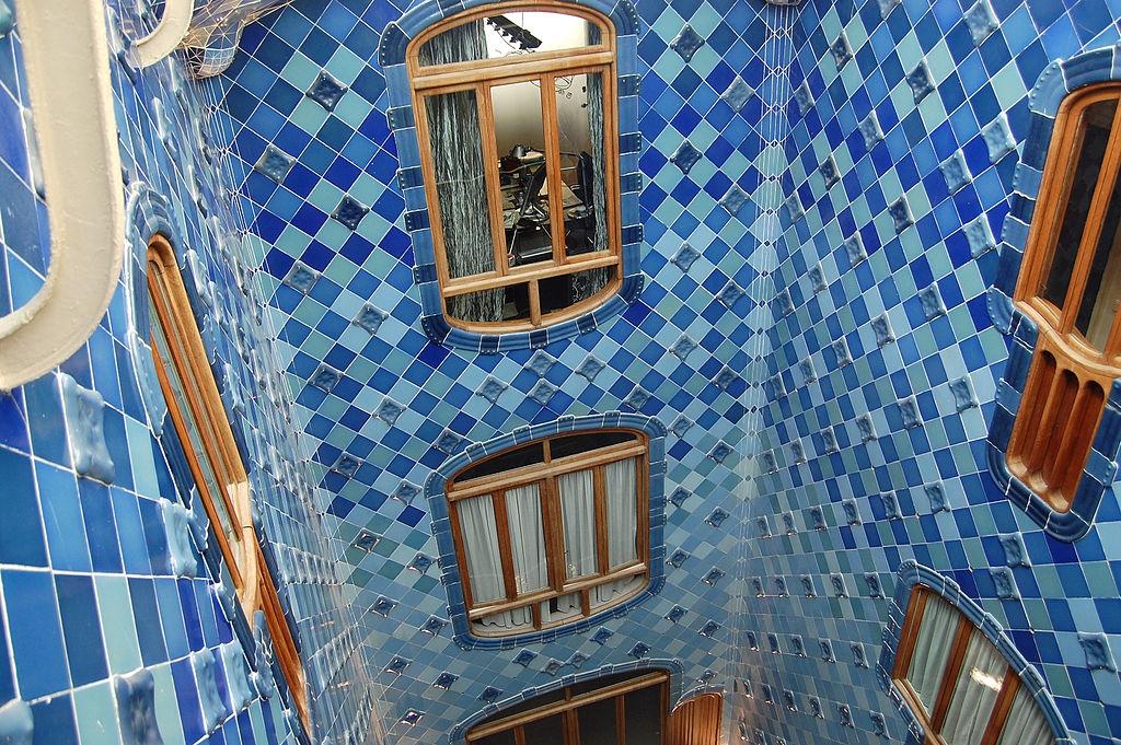 Casa Batlló Finestra sul cavedio