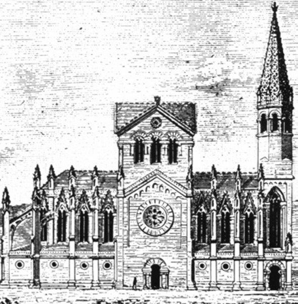 Progetto del 1877 di Francisco de Paula del Villar y Lozano