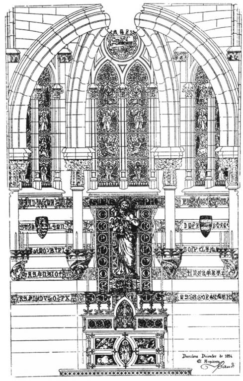 Rilievo della Capella di San Giuseppe