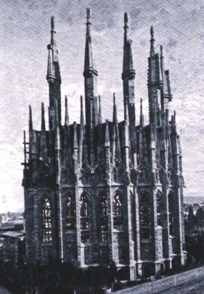 L'Abside nel 1893